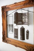 Framed kitchen utensils