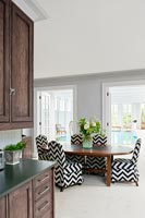 Contemporary kitchen dining space