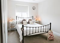 Classic iron bedstead