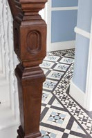 Detail of hallway tiles