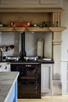 Classic kitchen with aga