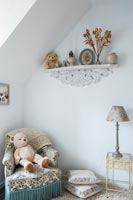 Country furniture with teddy bears