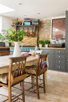 Modern country kitchen-diner