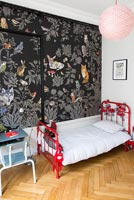 Colourful childrens bedroom