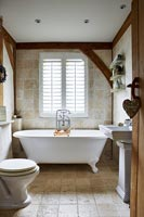 Modern country bathroom