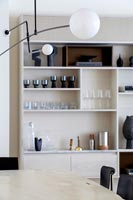 Modern wall storage unit
