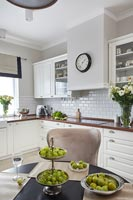 Classic kitchen and dining table