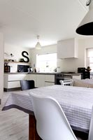 White kitchen and diner