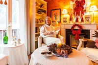 Swiss Christmas Chalet Story feature portrait