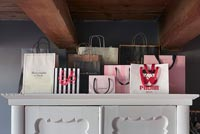 Collection of designer bags