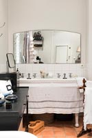 Bohemian country bathroom