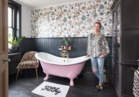 Affordable Period Bathroom Makeover feature portrait