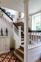 Classic hallway and staircase