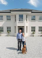 John and Stephanie New Build House - feature portrait