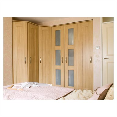 gap interiors modern bedroom with fitted wardrobes picture library