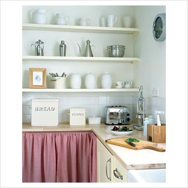 Curtain kitchen cupboard ~ Decorate the house with beautiful curtains