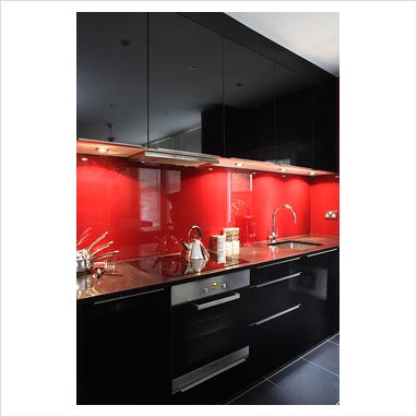 Gap Interiors Modern Black Kitchen Picture Library