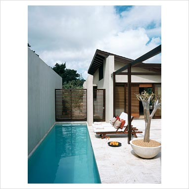 Gap interiors narrow swimming pool picture library for Narrow pools