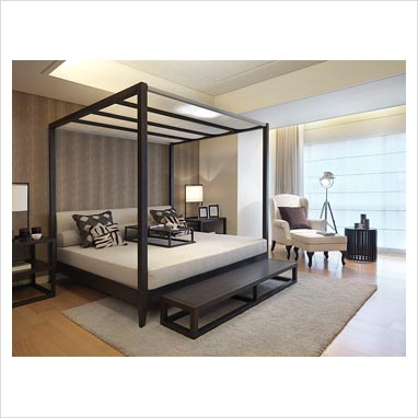 Gap Interiors Modern Four Poster Bed Picture Library