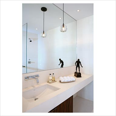 gap interiors modern bathroom picture library specialising in