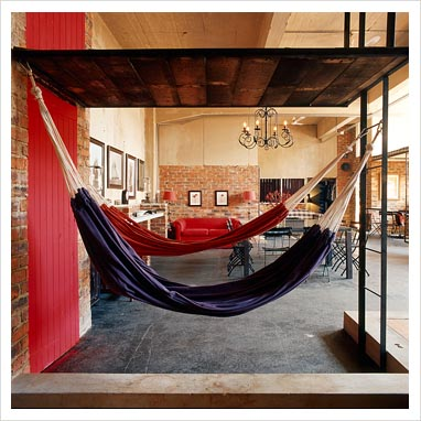 let's stay: hammock for living room