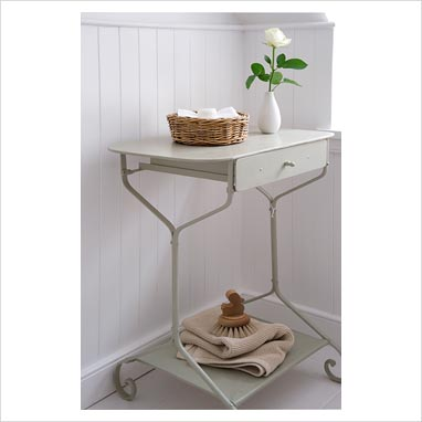 gap interiors console table in bathroom picture library