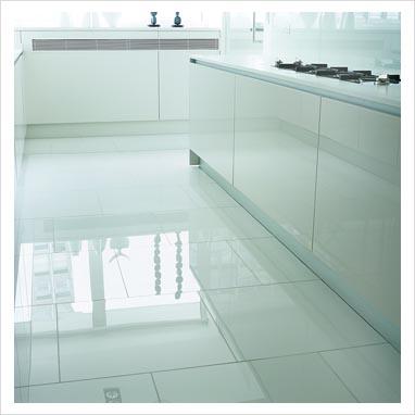 Shiny White Vinyl Flooring Gurus Floor