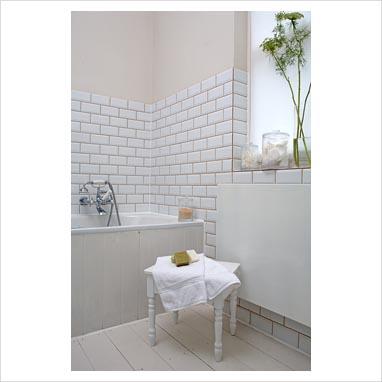 31 Elegant White Brick Tiles Bathroom | eyagci.com