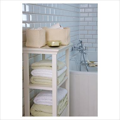 0048675   Modern Bathroom Shelf Unit.