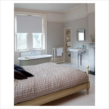 gap interiors modern bedroom with bath and sink picture library