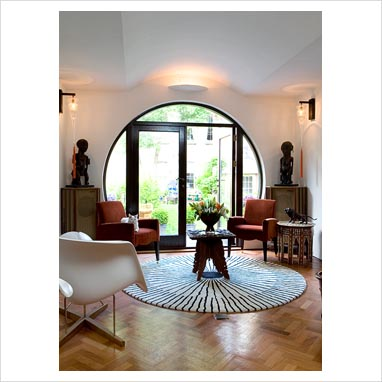 Living Room Windows on Gap Interiors   Modern Living Room   Picture Library Specialising In