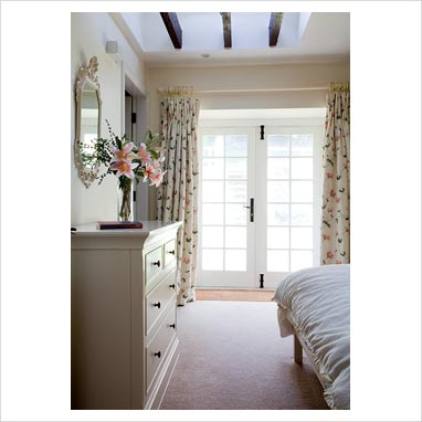 Gap Interiors Country Bedroom With French Windows