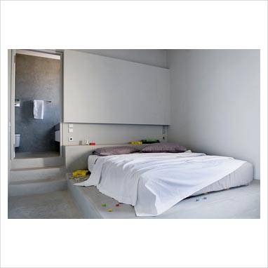 GAP Interiors - Contemporary bedroom with en suite bathroom - Picture