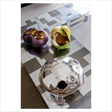 gap interiors decorative bowls on modern coffee table. Black Bedroom Furniture Sets. Home Design Ideas
