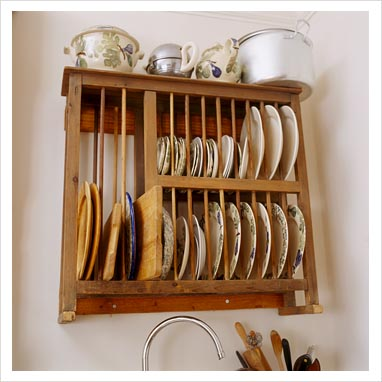 Wooden Wall Mounted Plate Rack : wooden wall plate racks - pezcame.com