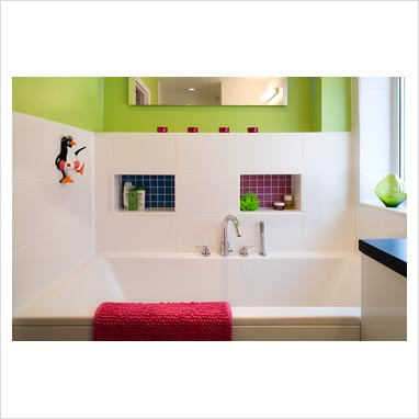 White Bathroom Accessories on Gap Interiors   Modern Bathroom   Picture Library Specialising In